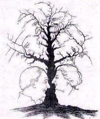 How many faces do you see? #creativeart #drawings