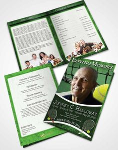 Bifold Order Of Service Obituary Template Brochure On The Cross