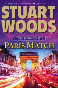 Paris match by Stuart Woods.  Click the cover image to check out or request the bestsellers kindle.