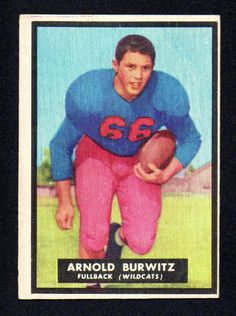 VINTAGE ARNOLD BURWITZ ROOKIE Arizona wildcats 1951 TOPPS MAGIC #69 VG NICE Listing in the Graded,Pre-1980,Rookies,NFL,Football (American),Sports Cards,Sport Memorabilia & Cards Category on eBid United States