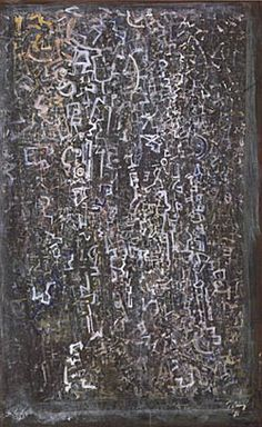 From Mark Tobey's White Writing Series