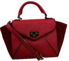 71f0c5c0cf Kate Spade Sale Small Laurel Wesley Place  Msrp  325 Oxblood Cross Body  Bag. Get