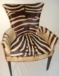 Zebra Chair, Zebra Dining Chair, Turquoise Chair, Natural Turquoise, To Pur  Chase