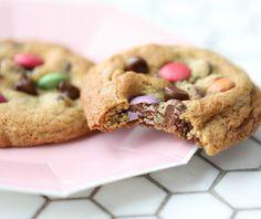 Oat Cookies, No Bake Cookies, Cookies Et Biscuits, Yummy Cookies, Baking Cookies, Smartie Cookies, Smarties Recipes, Nutella, Bakken