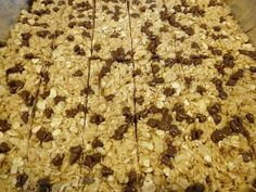 Easy Homemade granola bars Easy Homemade Granola Bars Summer 1013 - Easy and would definately do again. I will expirement with some other reciped first!