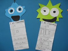 Place Value Monsters! Cute way to practice expanded form! Smiling and Shining in Second Grade: Classroom Pictures