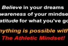 Athletic Mindset with Personal Power