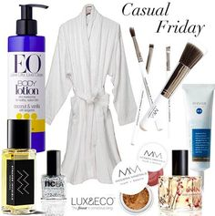 All you need to pamper yourself this weekend!