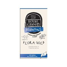 Flora Gold by Royal Green 120 capsules