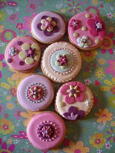Inspiration Retro bloom cookies