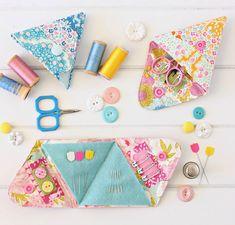 Triangle Sewing Kit Pattern