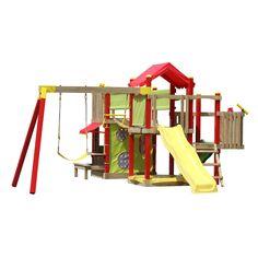 $2200 Swing Slide Climb Empire Multi Play Playground - Bunnings Warehouse