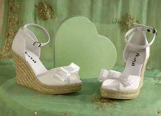 Confortable wedding shoes- Zapatos cómodos de novia