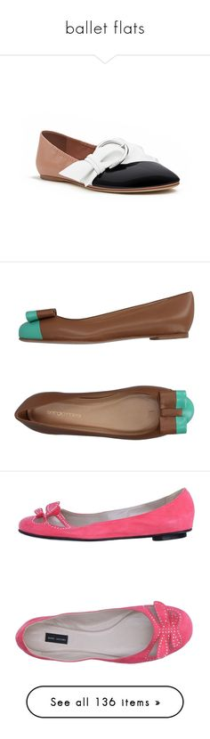 """""""ballet flats"""" by missy-smallen ❤ liked on Polyvore featuring shoes, flats, camel, round toe ballet flats, ballet flats, leather flat shoes, ballet pumps, ballet flat shoes, coral and flat shoes"""