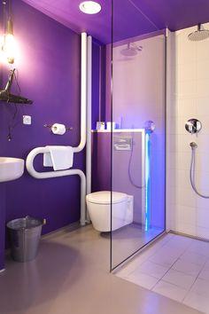 Last Minute Hotel Deals at Great Hotels Hotel Bathrooms, Last Minute Hotel Deals, Great Hotel, Pink Room, Room Interior, Interiors, Purple, City, Decorating