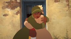 Tiana and her mother