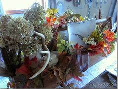 Rustic & Refined: Fall Toolbox Tablescape