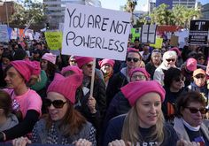 Transgender activists are upset that the women's march over the weekend was not inclusive to biological men who identify as women.