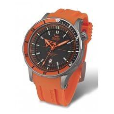 Reloj Vostok Anchar Titanio Automatico Naranja  http://www.tutunca.es/reloj-vostok-anchar-titanio-automatico-naranja