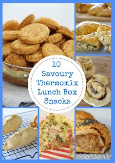 10 Savoury Thermomix Lunch Box Snacks Thermobliss The number of people ea. Savory Muffins, Savory Snacks, Healthy Snacks, Healthy Recipes, Lunch Box Recipes, Snack Recipes, Cooking Recipes, Lunch Ideas, Picnic Ideas