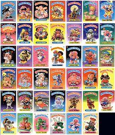 Throwback Thursday Garbage Pail Kids Garbage Pail Kids My Childhood Memories Childhood Memories