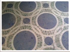 Custom Waterjet Mosaic Available Through Renaissance Tile & Bath
