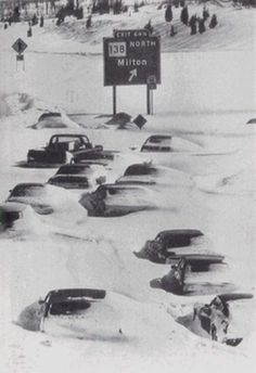 The Blizzard of '78 -- My first winter in the Boston area was two years later, so I missed this one.
