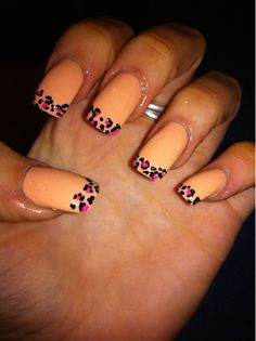 Peach Leopard