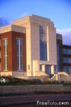 WD and HO Wills cigarette factory, Art Deco style building, Newcastle upon Tyne.  Now  apartments.