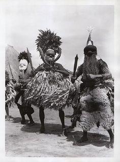 Africa   Salampasu Masks   DR of Congo