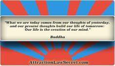 For free law of attraction lessons, inspiration and motivation, visit the best LOA website: www.attractionlawsecret.com Good Motivation, Law Of Attraction Quotes, Our Life, The Secret, Mindfulness, Thoughts, Website, Free, Inspiration
