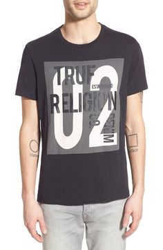 True Religion Brand Jeans Graphic T-Shirt