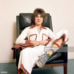 Eric Faulkner of pop group the Bay City Rollers poses in October 1975 in Aarhus, Denmark. Get premium, high resolution news photos at Getty Images Bay City Rollers, Special Olympics, City Boy, Those Were The Days, Teenage Dream, Pop Group, Rock N Roll, Two By Two, Daughter
