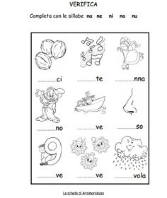 bambini esercizi con le sillabe con la lettera t 1000 images about sillabe on italian lessons 317