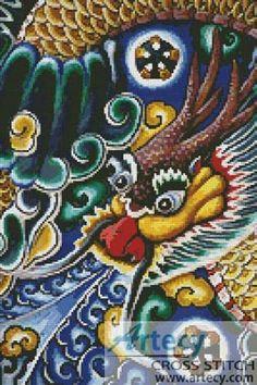 Asian Dragon 2 by Tereena Clarke