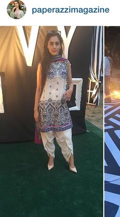 Crisp white dhoti shalwar! All the rage in Pakistan spring 2016