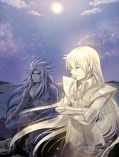 Deuteros & Asmita - Saint Seiya The Lost Canvas