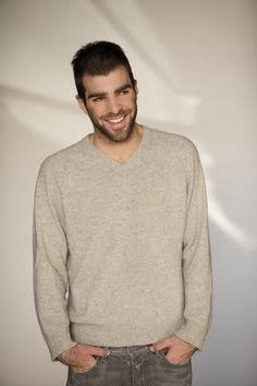 Zachary Quinto. The most beautiful psycho killer I've ever seen..  Heroes was a great show...