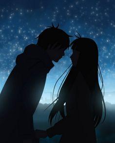 Kimi ni todoke… -Anime- # Anime - New Ideas Kimi Ni Todoke, Manga Couple, Anime Love Couple, Cute Anime Couples, Cute Couple Art, Animes Wallpapers, Iphone Wallpapers, Iphone Backgrounds, Wallpaper Desktop