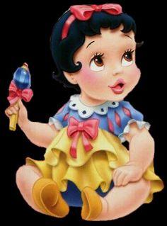 Princess Palace Pets, Disney Princess Babies, Disney Princess Snow White, Snow White Disney, Baby Princess, Disney Girls, Baby Snow White, Baby Disney Characters, Love Is Cartoon