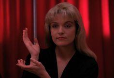 laura palmer's hands