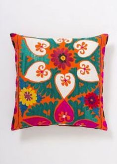 Pattern cushions - highlight colours