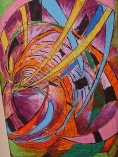 szín és forma / saját /