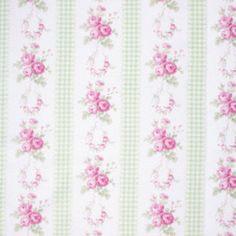 Tanya Whelan SLIPPER ROSES Fabric Country by BellatiqueFabrics, $9.25