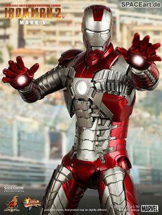 Iron Man 2: Mark V - Deluxe Figur