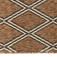 Hampton Bay Agave Natural 5 Ft. 3 In. X 7 Ft. 5 In. Indoor/Outdoor Area Rug
