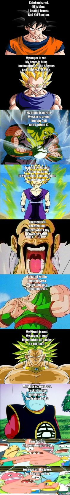 Funny Dbz Poems - Meme Center