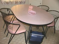 1950's Daystrom Dinette/Kitchen Set by ATwinkleInTime on Etsy, $600.00