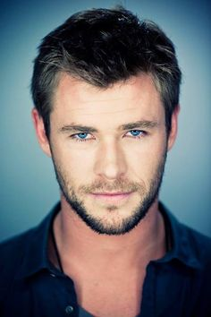 Chris Hemsworth by Michael Muller I don't know how actresses that work with him control themselves!