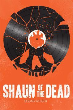 Shaun of the Dead by Chris Wharton #poster